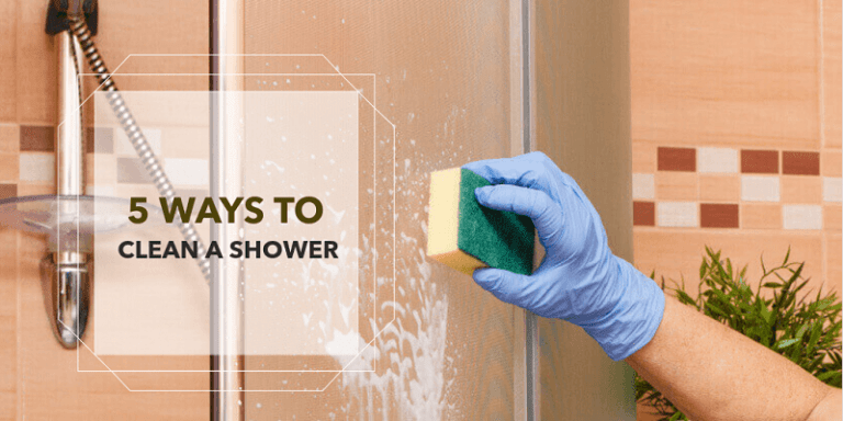 5 Ways to Clean a Shower