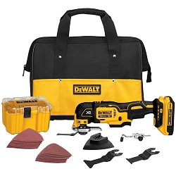 DEWALT DCS355D1 20V Oscillating Multi-Tool Kit