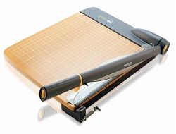 Westcott 12″ TrimAir Titanium Wood Guillotine Paper Trimmer