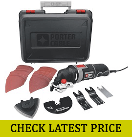 PORTER-CABLE PCE605K Corded Oscillating Multi-Tool Kit