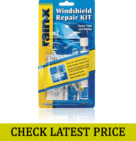 RainX Fix a Windshield Do it Yourself Windshield Repair Kit