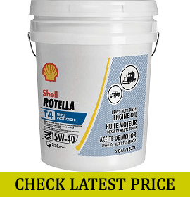 Shell Rotella T4 Triple Protection Engine Oil