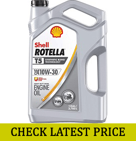 Shell Rotella T5 Synthetic Engine Oil