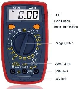 AstroAI Digital Multimeter with Ohm