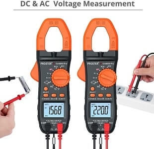 Proster 6000 Counts Clamp Multimeter