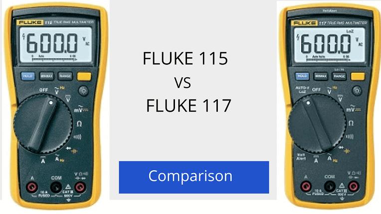 Fluke 115 vs 117