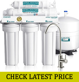 APEC Top Tier 5-Stage Osmosis Drinking Water Filter System