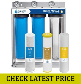 Express Water 3 Stage Heavy Metal Whole House Water Filter