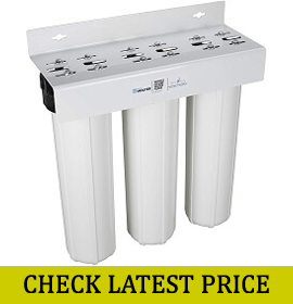 Home Master Whole House Three Stage Water Filtration System