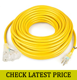 SIMBR 100 FT 12/3 Extension Cord
