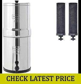 Travel Berkey Gravity-Fed Water Filter