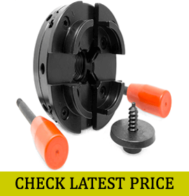 WEN LA4444 4-Inch 4-Jaw Self-Centering Chuck Set