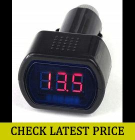 Zeltauto LED Digital Car Voltmeter