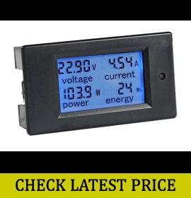 Bayite DC 6.5-100V Voltage Meter