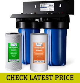 iSpring WGB21B 2-Stage Heavy-Duty Whole House Water Filtration