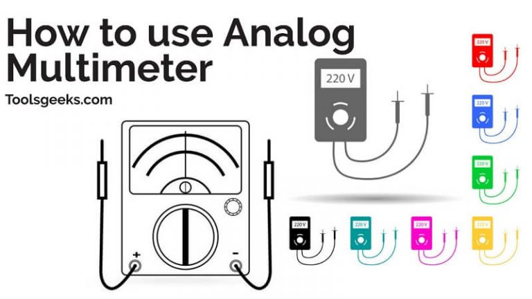How to use Analog Multimeter