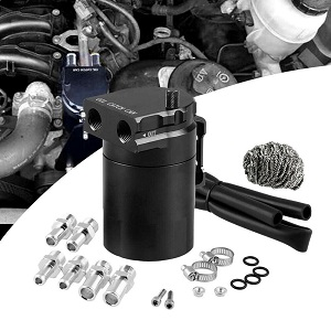 EIGIIS Dual Cylinder Oil Catch Can Kit