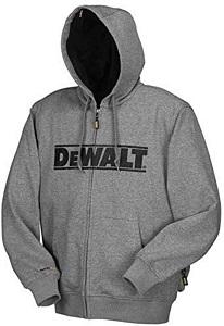 DEWALT 20V 12V MAX Bare Hooded Heated Jacket
