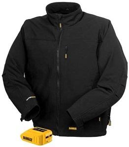 DEWALT 20V 12V MAX Black Heated Jacket