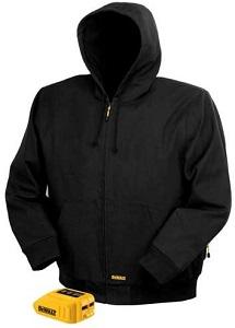 DEWALT 20V 12V MAX Black Hooded Heated Jacket