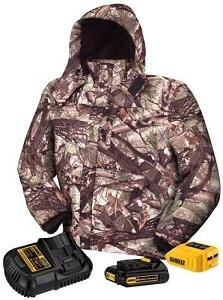 DEWALT 20V 12V MAX Camo Heated Jacket
