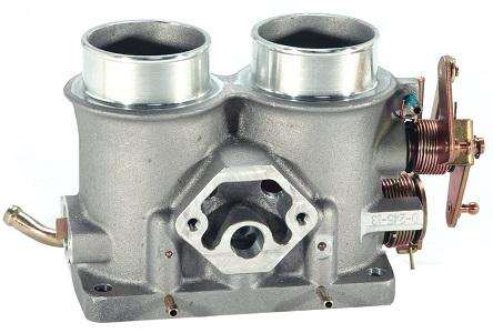BBK 3503 Twin 61mm throttle body spacer