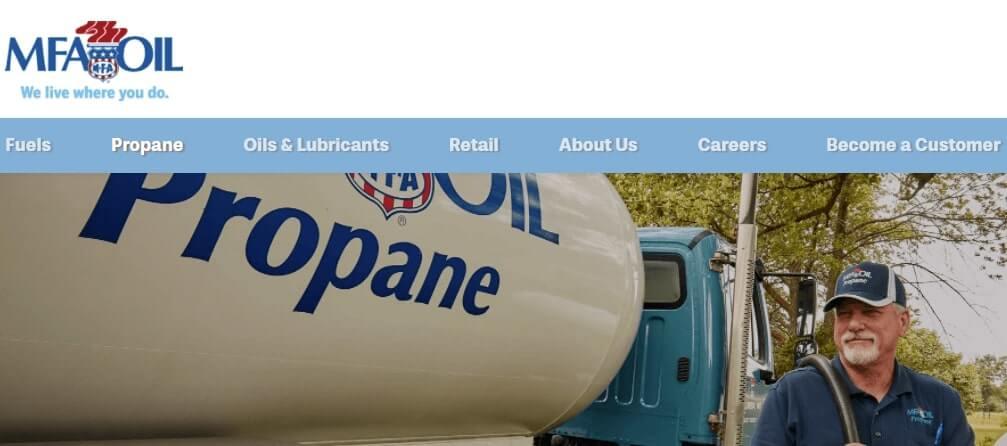 Refill Propane Tank at MFA Oil