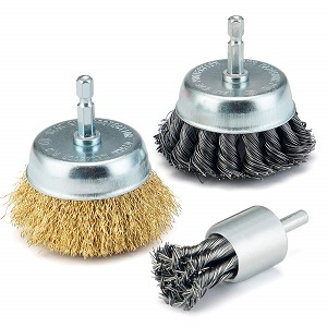 TILAX 3 Inch Wire Cup Brush